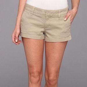 Hurley Womens W Lowrider Chino Short Shorts